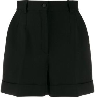 Dolce & Gabbana Turned-Up Hem Shorts