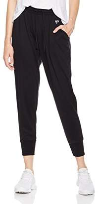 Halina Athletics Quick-Dry Pull-On Drawstring Waist Active Yoga Lounge Harem Ankle Length Tapered Jogger Pant with Pockets
