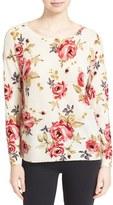Joie Women's Eloisa Print Cashmere Sweater