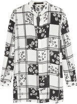Mother of Pearl Gibson Printed Silk-georgette Shirt - White