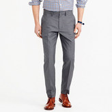 J.Crew Bowery classic pant in heather cotton twill