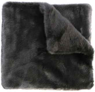 Vera Wang Faux Fur Stole