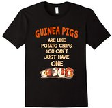 Women's Farm n' Fancy: Guinea Pigs Are Like Potato Chips T Shirt Small