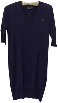 Fred Perry Purple Wool Dress for Women