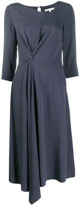 Patrizia Pepe Gathered Detail Dress