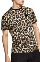 Topman Classic Fit Leopard Print T-Shirt