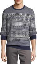 Original Penguin Wool-Blend Fair Isle Sweater