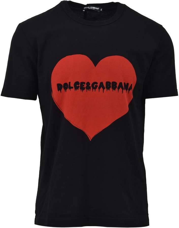 Dolce & Gabbana Heart Logo T-shirt