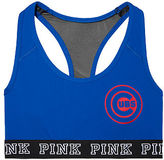 PINK Chicago Cubs Ultimate Racerback Bra