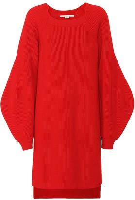 Stella McCartney Ribbed wool tunic sweater