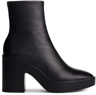 Rag & Bone Fei Leather Platform Ankle Boots