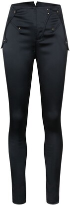 Esteban Cortazar High-Waist Skinny Trousers