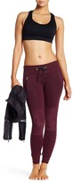 Electric Yoga Faux Suede Quilted Jogger