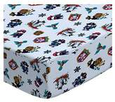 Camilla And Marc SheetWorld Fitted Crib / Toddler Sheet - Pirates - Made In USA - 28 inches x 52 inches (71.1 cm x 132.1 cm)