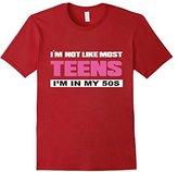 Men's I'm Not Like Most Teens I'm in My 50s T-shirt Large