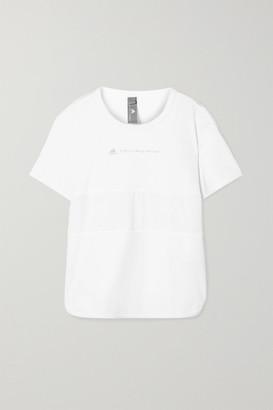 adidas by Stella McCartney Run Loose Climalite And Mesh T-shirt