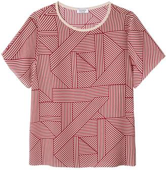 Somerville . All The Stripes Silk Tee