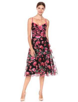 Tadashi Shoji Women's SLVLESS EMBRED Dress