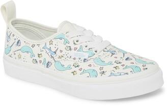 Vans Authentic Elastic Lace Shark Party Sneaker