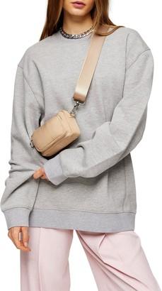 Topshop Relaxed Panel Sweatshirt