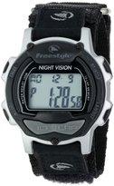 Freestyle Men's FS84886 Predator Nylon Black/Silver Watch