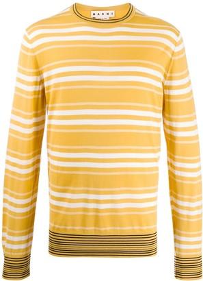 Marni double stripe sweater
