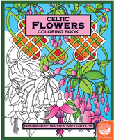 Celtic: Flowers Coloring Book