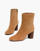 Madewell The Kaila Boot in Corduroy