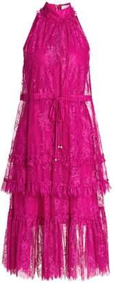 Alexis Magdalina Lace Halter Dress