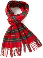 Fraas Fringed Tartan Plaid Muffler