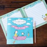 Lou Brown Designs 'Little Words Of Advice' Personalised Keepsake Book