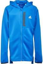 adidas Junior MESSI Full Zip Hoody Blue/White