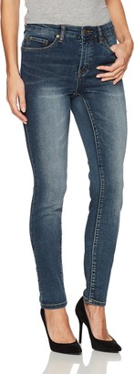 Tribal Women's 5 Pocket Skinny Knit Denim Jegging