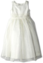 Us Angels Bead Sash Organza Dress Girl's Dress