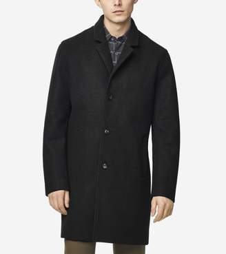 Cole Haan GRANDSERIES Stretch Wool Top Coat