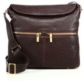 Elizabeth and James James Leather Crossbody Hobo Bag