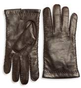 Portolano Cashmere-Lined Leather Gloves
