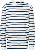 Alexander Wang garment printed stripe top