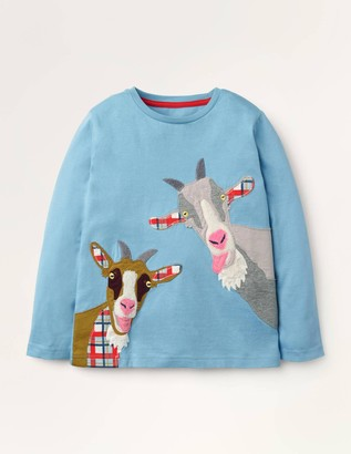 Farm Animal Applique T-shirt