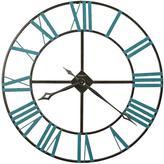 "Howard Miller ""St. Clair"" Wrought Iron Wall Clock"
