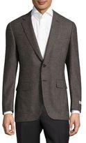 Canali Textured Wool Jacket