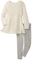 Splendid Lurex Sweater & Legging 2-Piece Set (Little Girls)