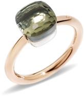 Pomellato Nudo Mini Rose Gold & Prasiolite Ring, Size 53