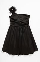 Ruby Rox One Shoulder Dress (Big Girls)