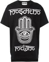 Moschino hamsa hand T-shirt - men - Cotton - XS