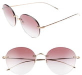 Oliver Peoples Coliena 57mm Round Sunglasses