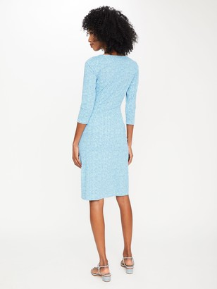 J.Mclaughlin Sage Dress in Dulce Dot