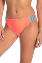 adidas Swimwear Stripe Hipster Bikini Bottoms