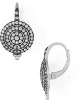 Freida Rothman Pavé Bullseye Earrings