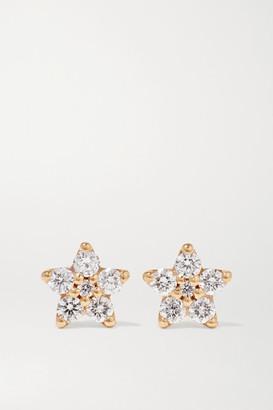 OLE LYNGGAARD COPENHAGEN Shooting Stars 18-karat Gold Diamond Earrings - one size
